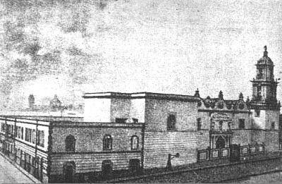 Hospital de Jesús. México-Tenochtitlán