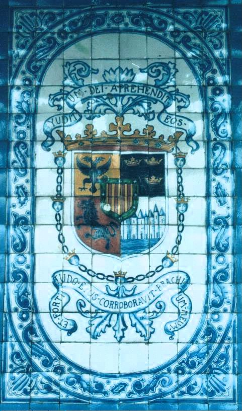 Escudo en Coyoacán